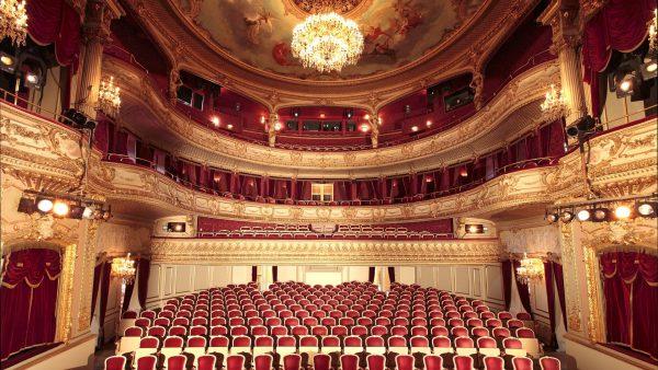 Интерьеры Городского театра Баден-Бадена