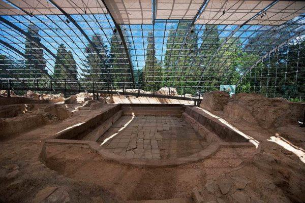 Руины римских бань в Баден-Бадене