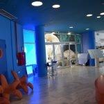 фойе в критском аквариуме