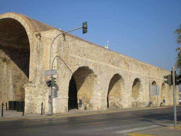 Венецианские крепостные стены в Ираклионе