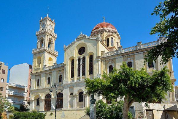 Храм святого Мины в Ираклионе