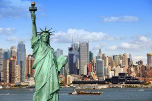 Статуя Свободы и Нью-Йорк