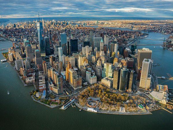 Нью-Йорк: вид сверху