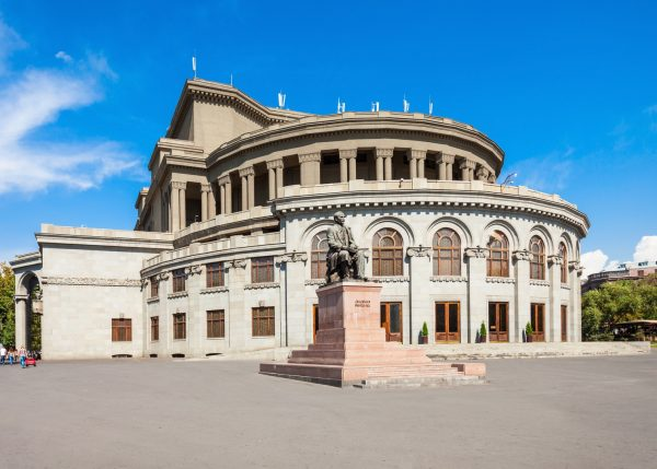 Армянский театр оперы и балета имени А А Спендиарова в Ереване