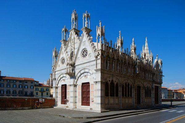 Храм святой Марии в Пизе