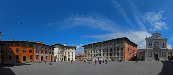 Площадь Рыцарей в Пизе