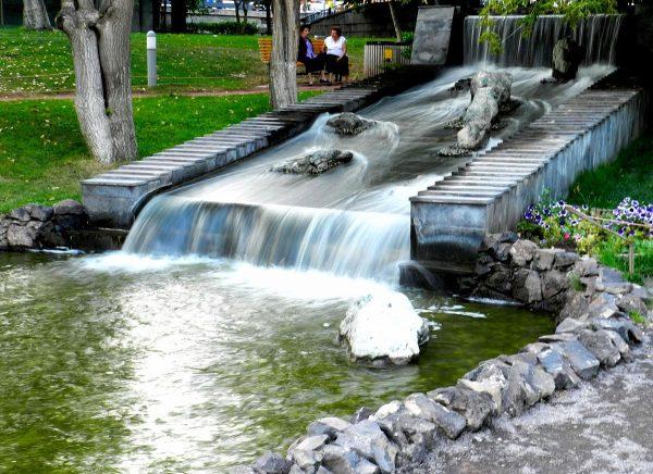 Парк влюблённых в Ереване