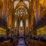 Интерьер Кафедрального собора Барселоны