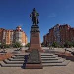 Памятник Петру I в Астрахани
