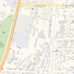 Один из парков на карте Еревана