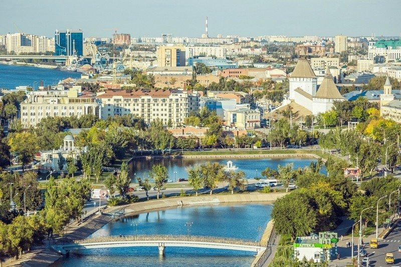 Астрахань: волжская Венеция