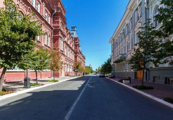 Проезжая часть в Астрахани
