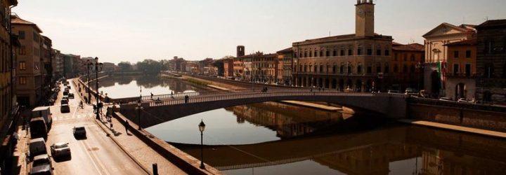 Панорама города Пиза