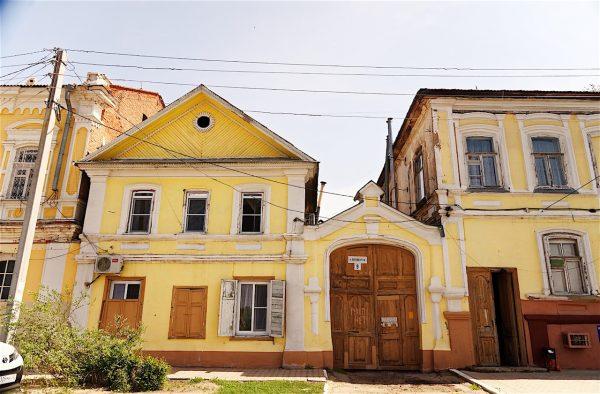Дома Белого города в Астрахани