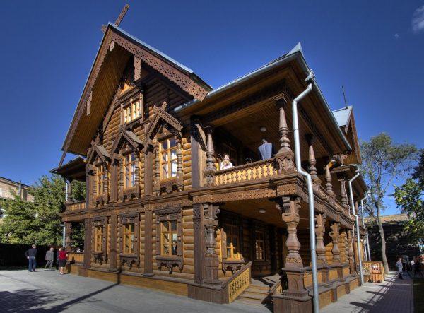 Дом купца Тетюшинова в Астрахани