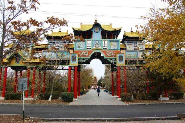 Золотые ворота в Элисте