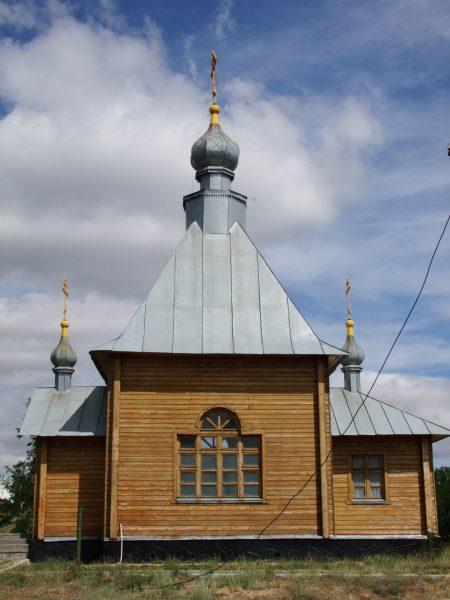 Церковь-часовня Святого Георгия Победоносца в Элисте