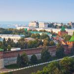 Панорама Нижегородского кремля