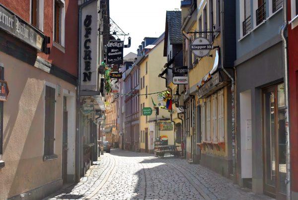 Улица в районе Альт-Заксенхаузен
