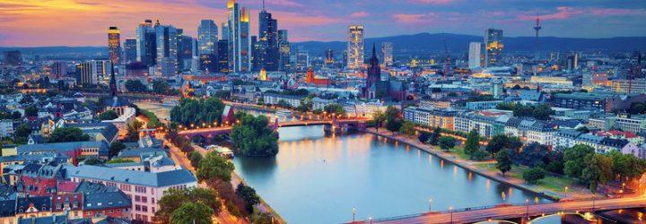 Франкфурт, вил сверху