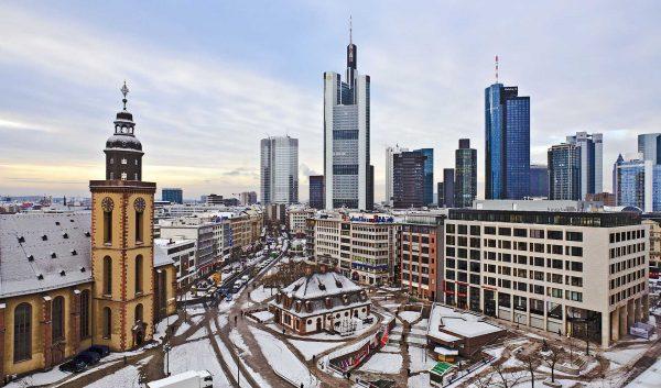 Франкфурт зимой