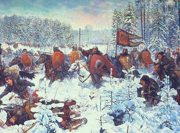 Сражение между тверичанами и войсками Ивана Калиты
