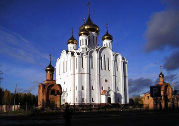 Свято-Стефановский собор в Сыктывкаре