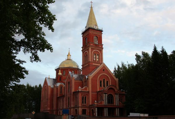 Церковь Христа-Спасителя в Сыктывкаре