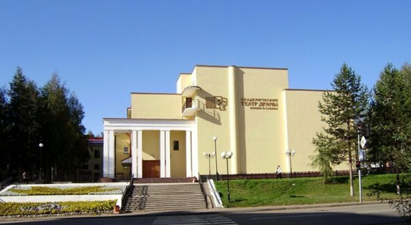 Театр драмы Савина в сыктывкаре