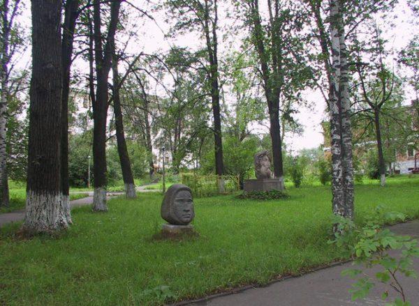 Сад скульптуры в Сыктывкаре