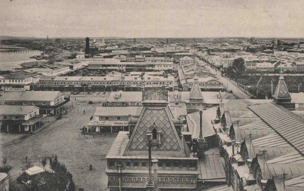 Старая фотография Нижегородской ярмарки