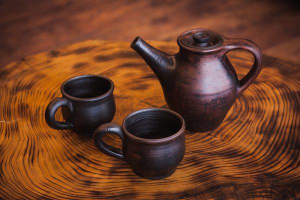 Чернолощёная керамика