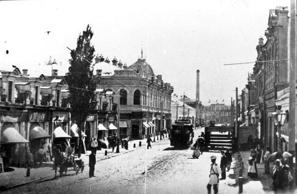 Астрахань — губернский центр