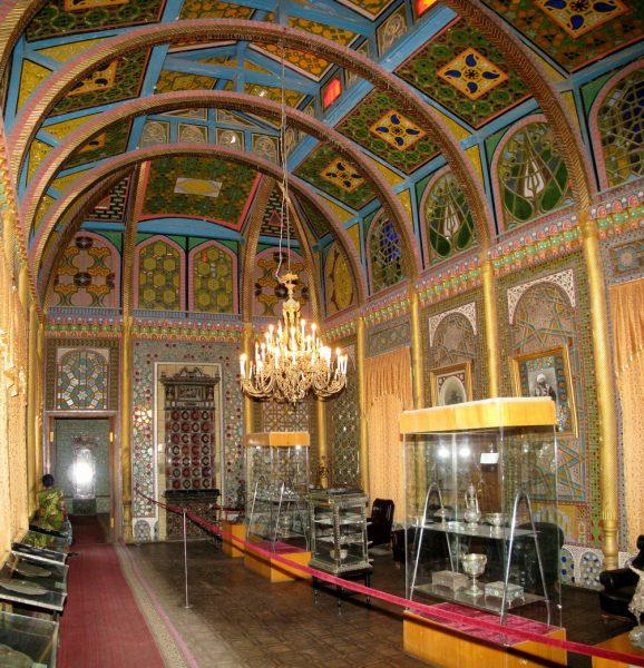 Интерьер дворца эмира Бухарского в Железноводске