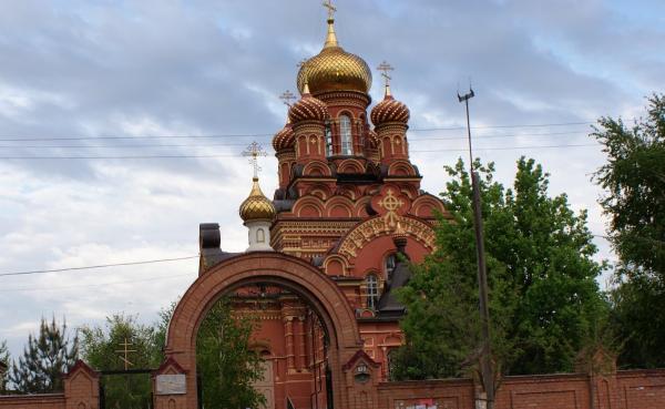 Иоанно-Предтеченский монастырь в Астрахани