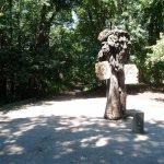 Деревянная скульптура на Железной горе