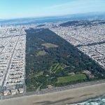 Парк с высоты птичьего полета