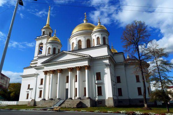 Александро-Невский собор в Ижевске