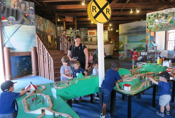Зал детского музея