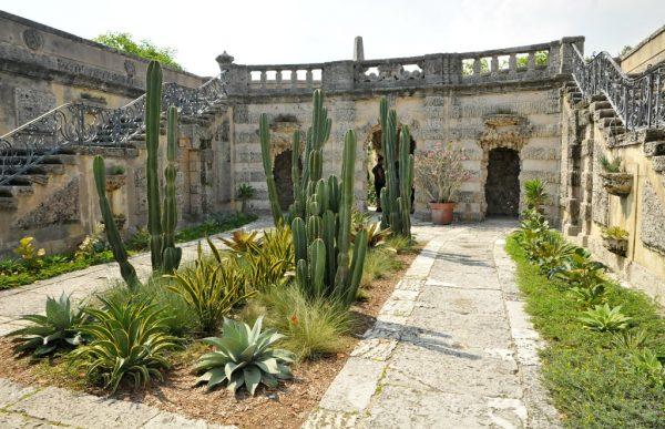 Усадебный сад виллы Вискайя