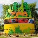 Арт-объект в зоопарке Майами