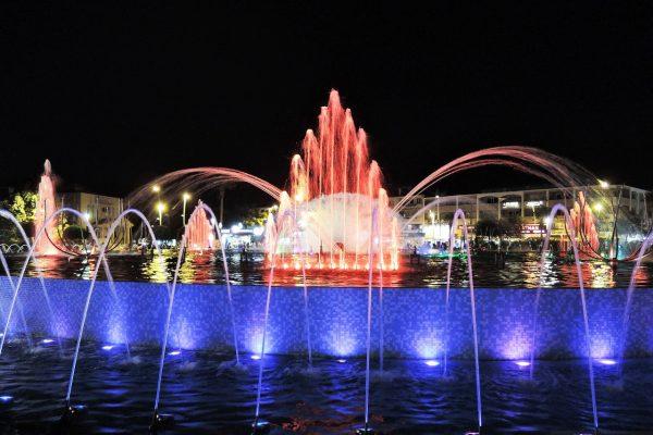 Танцующий фонтан в Мармарисе
