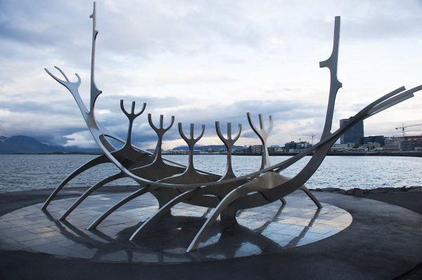 Скульптура Sun Voyager
