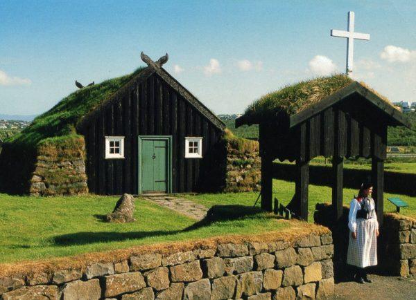 Фольклорный музей Арбаэярсафн: фермерский домик