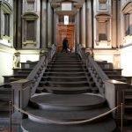 Лестница, ведущая в библиотеку Лауренциана