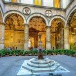 Внутренний дворик Палаццо Веккьо