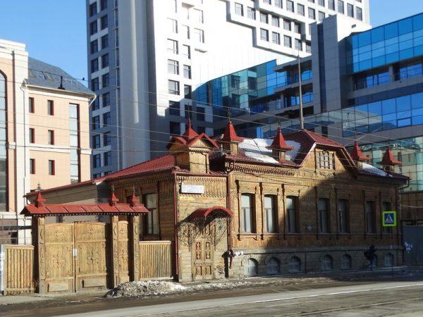 Дом братьев Степановых в Челябинске