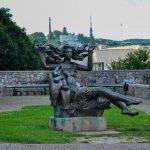 Скульптура Ведьмы