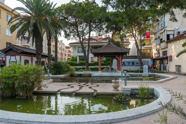 Китайский парк в Мармарисе