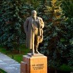 Памятник Ленину в Челябинске